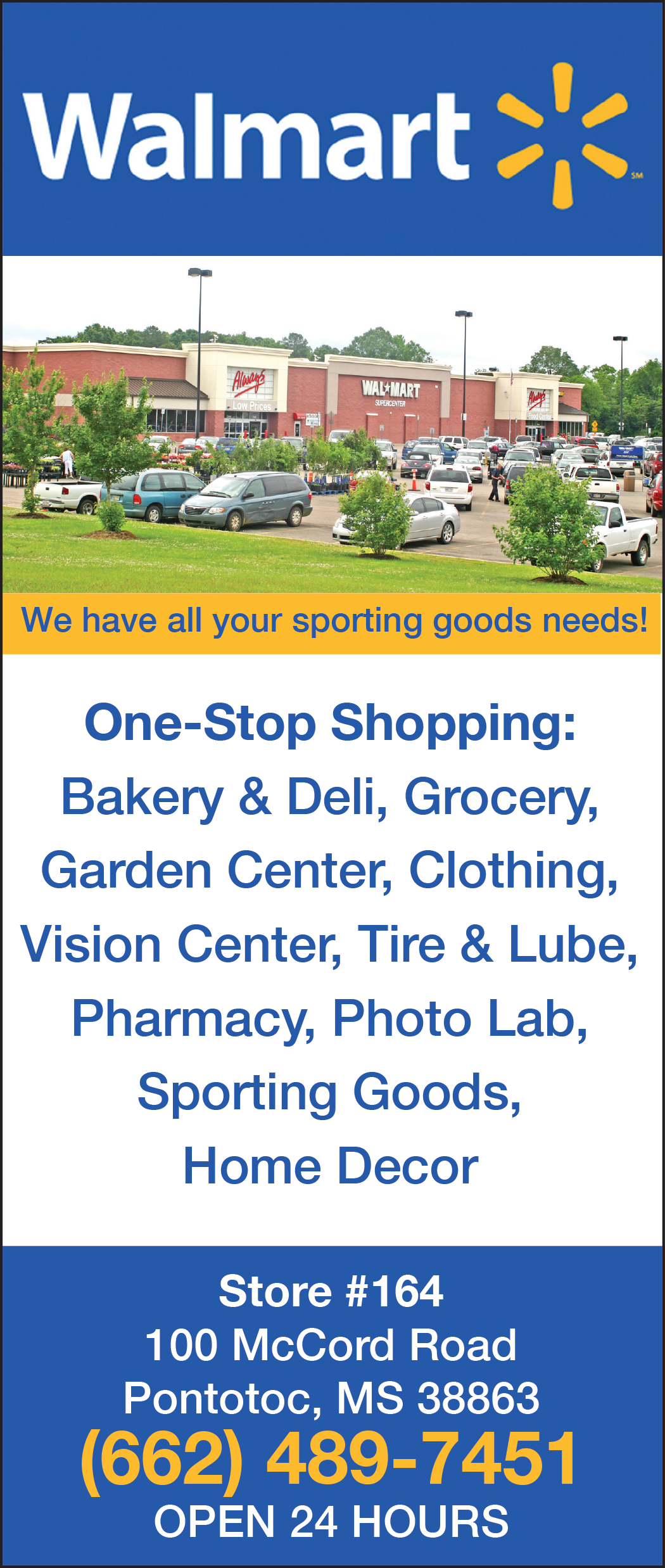 One Stop Shopping In Pontotoc Ms Shopping Retail Walmart